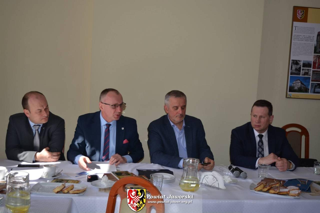 Starosta jaworski gospodarzem spotkania Komitetu Sterującego SUDETY 2030