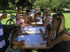 (FOTO) Wspólna praca nad projektem w Mściwojowie