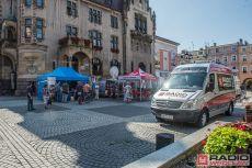 (FOTO) Promowali Jawor razem z Radiem Wrocław