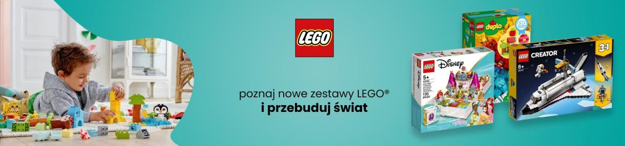 Poznaj nowe zestawy LEGO® i przebuduj świat. Zabawki dla dzieci. Internetowy sklep z zabawkami