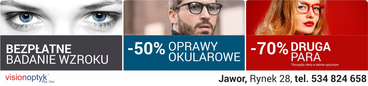 Vision Optyk Jawor