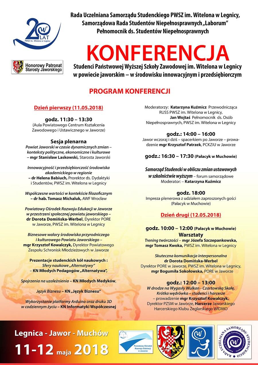 Konferencja naukowa PWSZ im. Witelona w PCKZiU w Jaworze