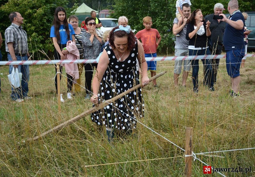 (FOTO) Kosy poszły w ruch w Muchowie