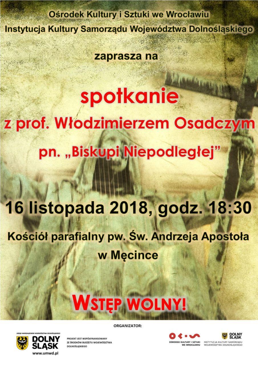 """Spotkanie """"Biskupi Niepodległej"""" w Męcince"""
