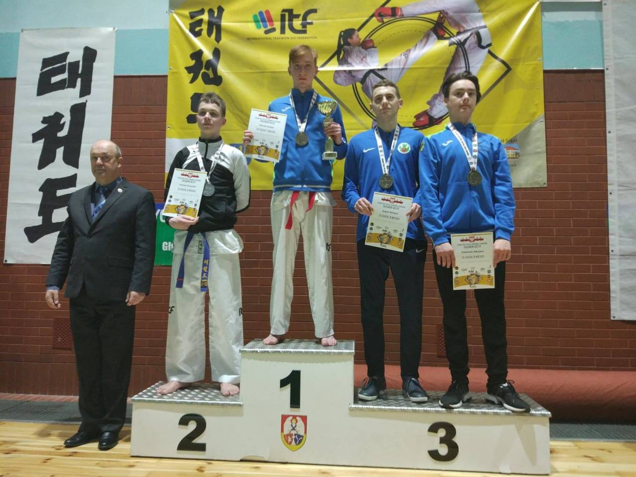 Złoty medal Słociaka na Grand Prix Polski Taekwon-do