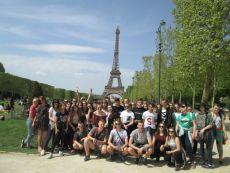 Uczniowie z SP Snowidza pojechali na wycieczkę do Paryża