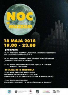 Noc w Muzeum 2018