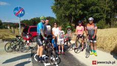 (FOTO) Powiatowa ścieżka pieszo - rowerowa już przejezdna!