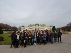 Uczniowie I LO zwiedzili Wiedeń i Pragę