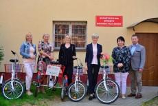 Trójkołowe rowery dla niepełnosprawnych